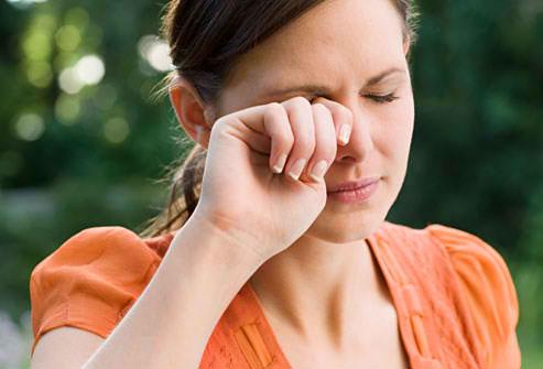 eye health tips rubbing