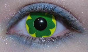 shamrock contact lenses